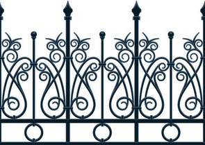 Wrought Iron Gates Bexhill-on-Sea East Sussex